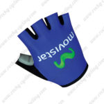 2016 Team Movistar Cycling Gloves Mitts Blue