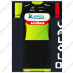 2016 Team ORICA GreenEDGE Vision Cycling Kit Black Green Yellow