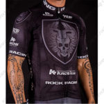 2016 Team ROCK RACING KROS Bicycle Jersey Maillot Shirt Black