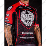2016 Team ROCK RACING KROS Bicycle Jersey Maillot Shirt Red Black