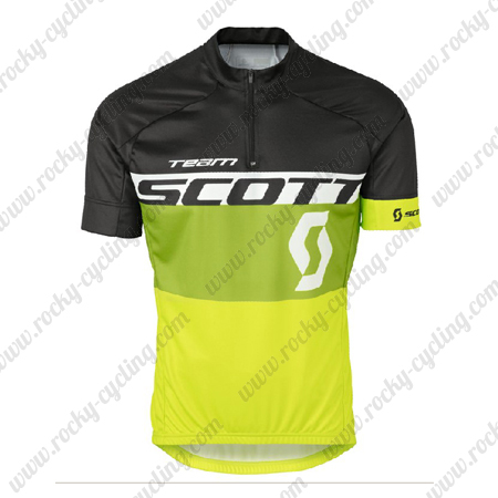2016 Team SCOTT Riding Wear Bicycle Maillot Jersey Tops Shirt Black ... e26992f5f
