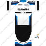 2016 Team SUBARU Cycling Kit White Black Blue