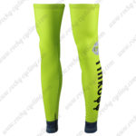 2016 Team Tinkoff Cycling Leg Warmers Sleeves Green
