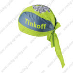 2016 Team Tinkoff Riding Bandana Head Scarf Green
