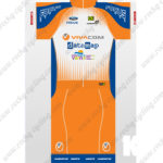 2016 Team VIVACOM datamap FOCUS Cycling Kit Orange Blue