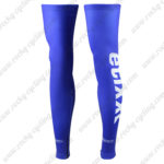 2016 Team etixxl QUICK STEP Cycling Leg Warmers Sleeves Blue