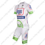 2012 Team Argos SHIMANO 1t4i Cycling Kit White Green