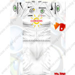 2012 Team COFIDIS Tour de France Cycling Kit White