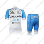 2012 Team COLNAGO CSF BARDIANI Cycling Kit White Blue
