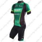 2012 Team Europcar VENDEE Cycling Kit Black Green