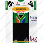 2012 Team GARMIN SHARP South Africa Cycling Kit