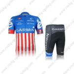 2012 Team GARMIN cervelo Cycling Kit Blue Red