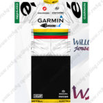 2012 Team GARMIN cervelo Lithuania Cycling Kit White