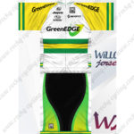 2012 Team GreenEDGE Cycling Kit White Yellow Green