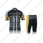 2012 Team LIVESTRONG Cycling Kit Black Yellow