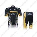 2012 Team LIVESTRONG Fly Emirates Cycling Kit Black Yellow