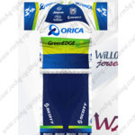 2012 Team ORICA GreenEDGE Riding Kit Blue