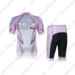 2012 Team PEARL IZUMI Cycling Kit White Pink