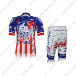 2012 Team ROCK RACING Anarchy Biking Kit Blue Red