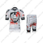 2012 Team ROCK RACING Anarchy Cycling Kit White Black Red