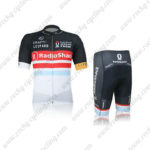 2012 Team RadioShack Netherlands Cycling Kit Black Red White