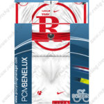 2012 Team RadioShack TREK Cycling Kit White Red
