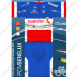 2012 Team euskaltel Euskadi Riding Kit Blue White Red