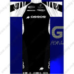 2013 Team ASSOS Cycling Kit Black White