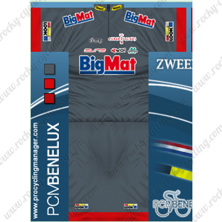 2013 Team BigMat LOOK Biking Wear Summer Winter Cycle Jersey and ... 8186fb49a