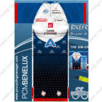 2013 Team CAISSE D'EPARGNE Cycling Kit Blue White