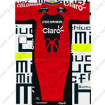 2013 Team COLOMBIA Claro Cycling Kit Red Black