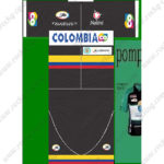 2013 Team COLOMBIA Cycling Kit Black