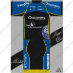 2013 Team Discovery Cycling Kit Blue Black