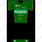 2013 Team Europcar VENDEE Cycling Kit Green Black