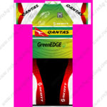2013 Team GreenEDGE QANTAS SCOTT Cycling Kit Green Red