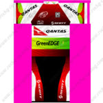 2013 Team GreenEDGE QANTAS SCOTT Riding Kit Green Red White