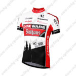 2013 Team Lex WARE Rothaus Cycling Jersey Maillot Shirt White Red Black