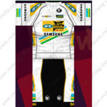2013 Team MTN Qhubeka Cycling Kit White Black