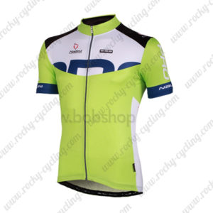 2013 Team NALINI Cycling Jersey Maillot Shirt Green White