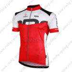 2013 Team NALINI Trainning Jersey Maillot Shirt White Red