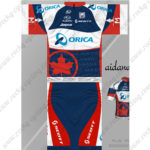 2013 Team ORICA SCOTT Cycling Kit Blue Red