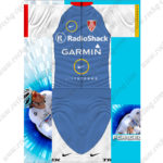 2013 Team RadioShack GARMIN LIVESTRONG TREK Cycling Kit Blue White
