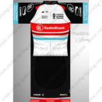 2013 Team RadioShack Luxembourg Cycling Kit White Black