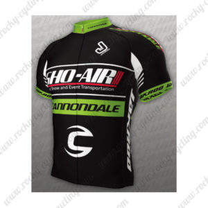 2013 Team SHO-AIR Cannondale Bicycle Jersey Maillot Shirt Black Green