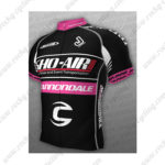 2013 Team SHO-AIR Cannondale Biking Jersey Maillot Shirt Black Pink