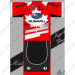 2013 Team SUBARU Riding Kit Red Black