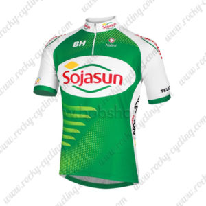 2013 Team Sojasun Cycling Jersey Maillot Shirt Green
