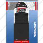 2013 Team TUJA SHIMANO Cycling Kit Black White
