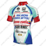 2014 Team ANDRONI Venezuela Cycling Jersey White Blue Red