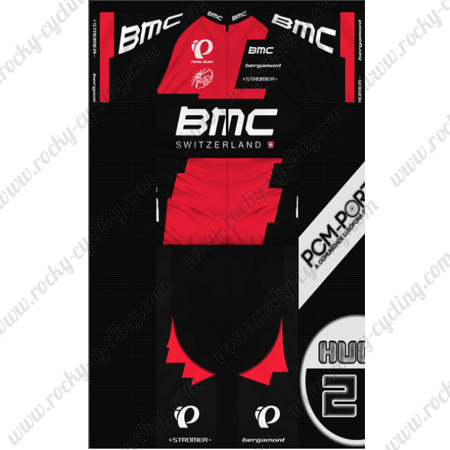 2014 Team BMC Riding Clothing Summer Winter Cycle Jersey and Padded ... 8262b472a